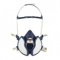 3M™ 4251+ FFA1P2 RD Μάσκα Με Ενσωματωμένα Φίλτρα