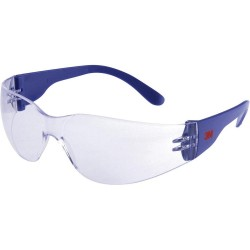 3M™ 2720 Safety Glasses, Anti-Scratch / Anti-Fog, Clear Lens