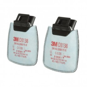 3M™ Secure Click™ D3138 P3, Particulate Filters