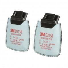 3M™ Secure Click™ D3138 P3, Φίλτρο Σωματιδίων Με Ανακούφιση από Οσμές