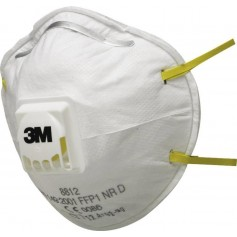 3M™ 8812 Particulate Respirator FFP1