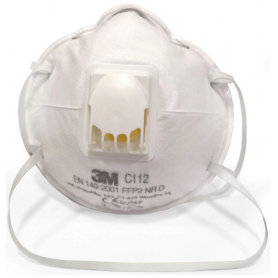 3M ™ C112 Particle MaskFFP2, With Valve