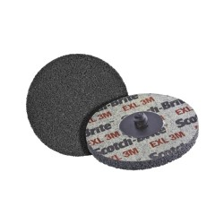 3M Scotch-Brite XL-UR Unitized Aluminum Oxide Soft Deburring Wheel