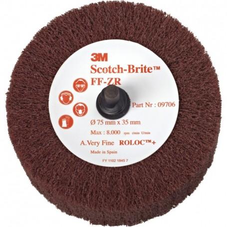 3M Scotch-Brite FF-ZR Δίσκος φινιρίσματος
