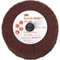 3M Scotch-Brite FF-ZR Non-Woven Aluminum Oxide Flap Wheel