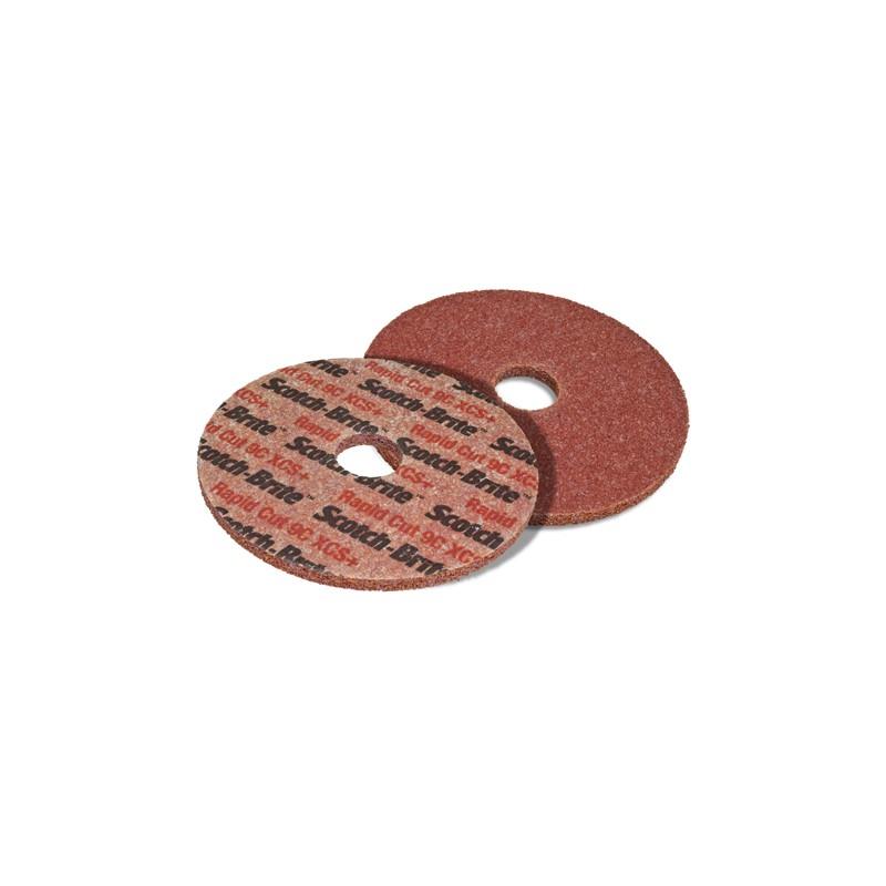 6 in x 1 in x 1 in 7C XCS+ Scotch-Brite Rapid Cut Unitized Wheel 2 per case