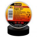 Scotch® Super 33+™ Vinyl Electrical Tape Black