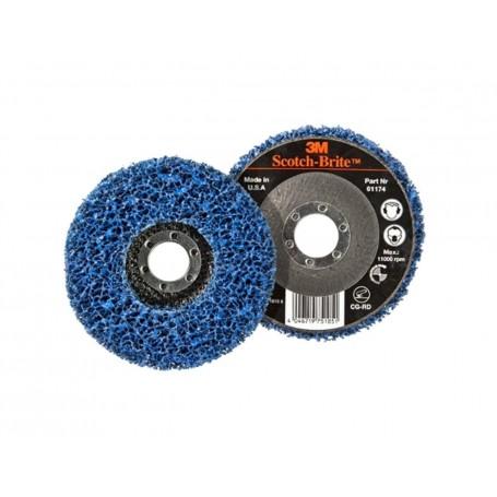 Scotch-Brite™ Clean and Strip CG-RD Discs Fibre
