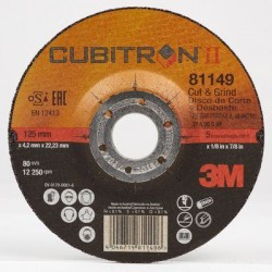 3M™ Cubitron™ II Cut & Grind Wheel