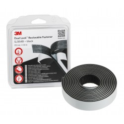 3M Dual Lock™ SJ354B Reclosable Fasteners -Black