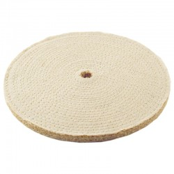 Disc Polishing Cloth With Spiral Seams from Sisal